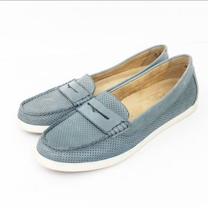 NEW Naturalizer Gwen Loafers Sz 8.5M Blue-Gray